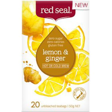 Red Seal Fruit Lemon & Ginger Tea 20 tbags