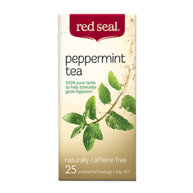 Red Seal Peppermint Tea 25 tbags