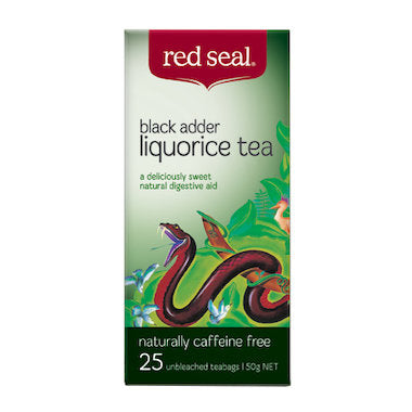 Red Seal Black Adder Tea 25 tbags