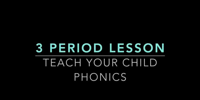 The Montessori 3 Period Lesson