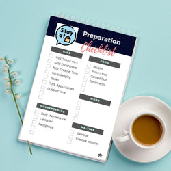 [Free Printable] Stay-at-home Preparation Checklist