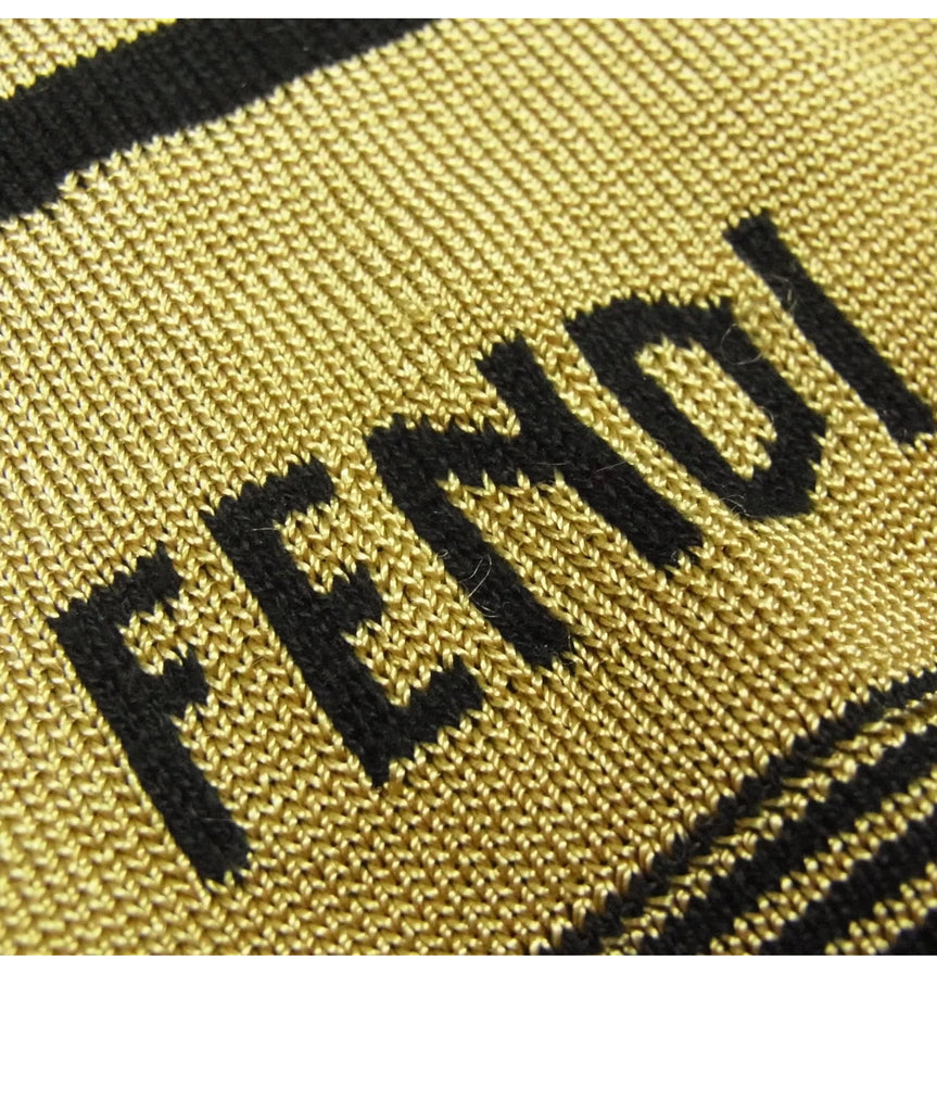 Vintage Fendi FF logo cropped Sweater, small