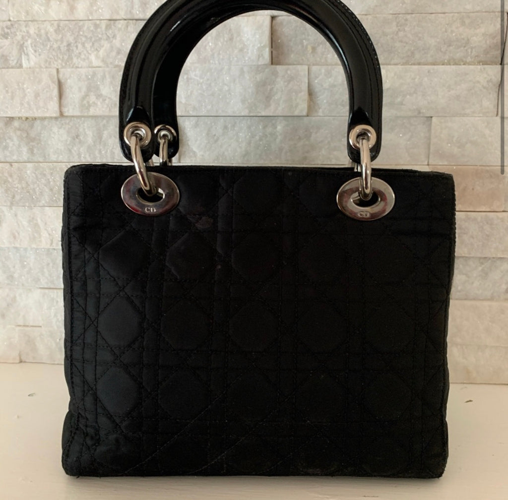 Vintage CHRISTIAN DIOR Nylon Lady Dior Bag