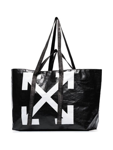 OFF-WHITE XL Logo Tote Bag