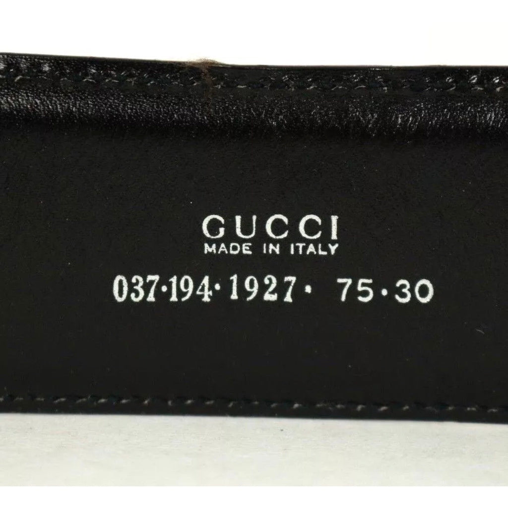 GUCCI BAMBOO DETAIL WAIST BELT, 75/30
