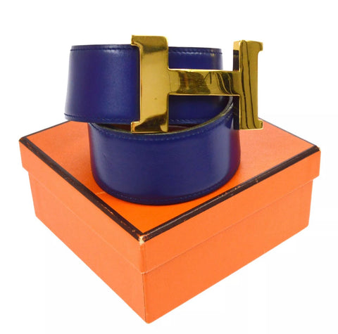 "HERMES ""H"" Reversible Constance belt, SMALL"