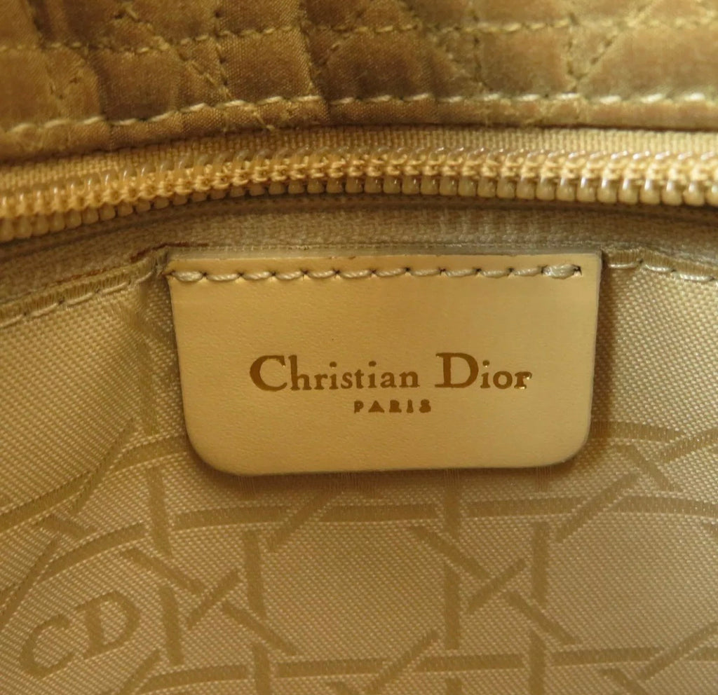 "Vintage Christian Dior ""Lady Dior"" Bag, Small/Med"