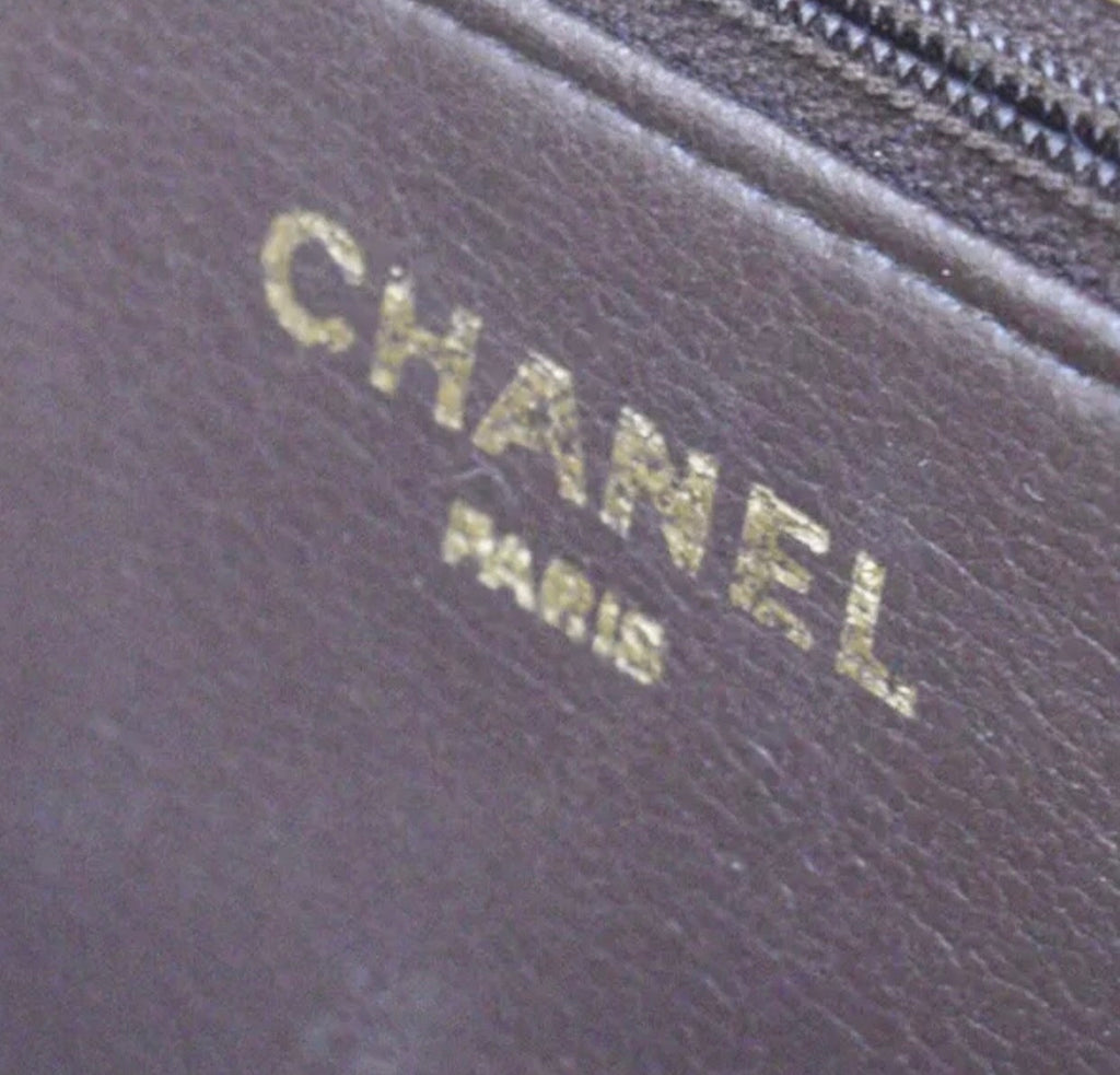 CHANEL Quilted Lambskin Single Flap Shoulder Bag