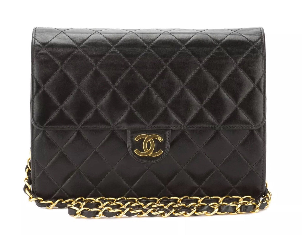 Vintage CHANEL Classic SIngle Flap Crossbody Bag