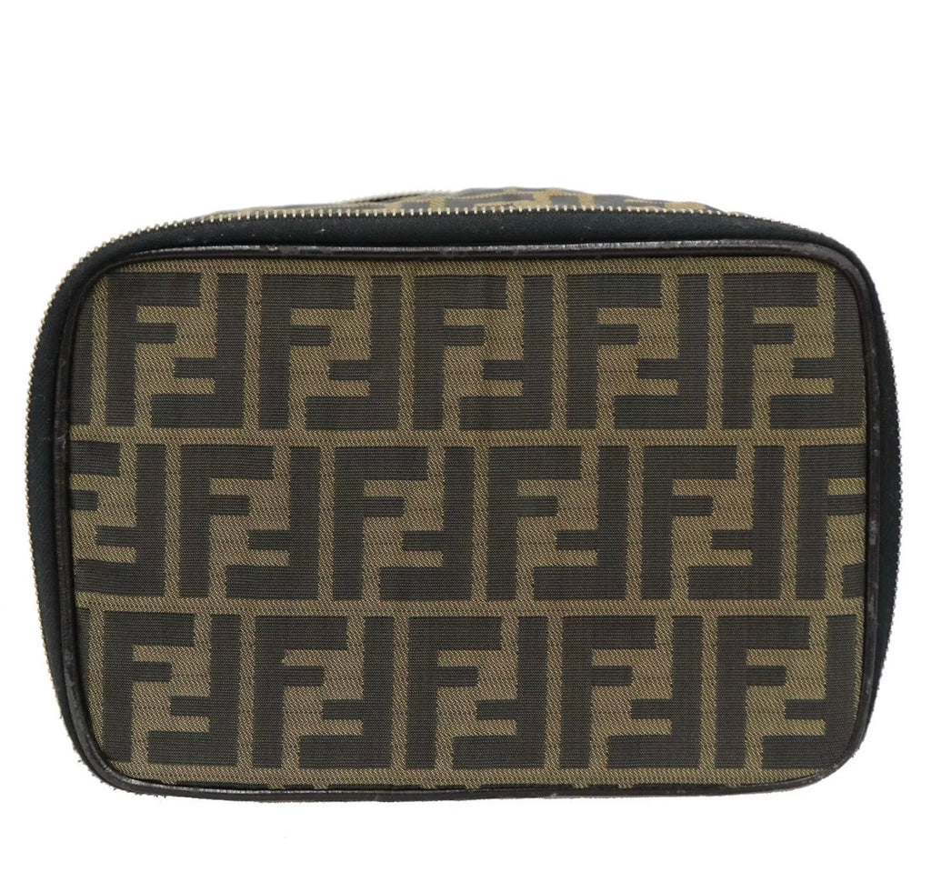 FENDI FF Monogram Collapsible Makeup Case