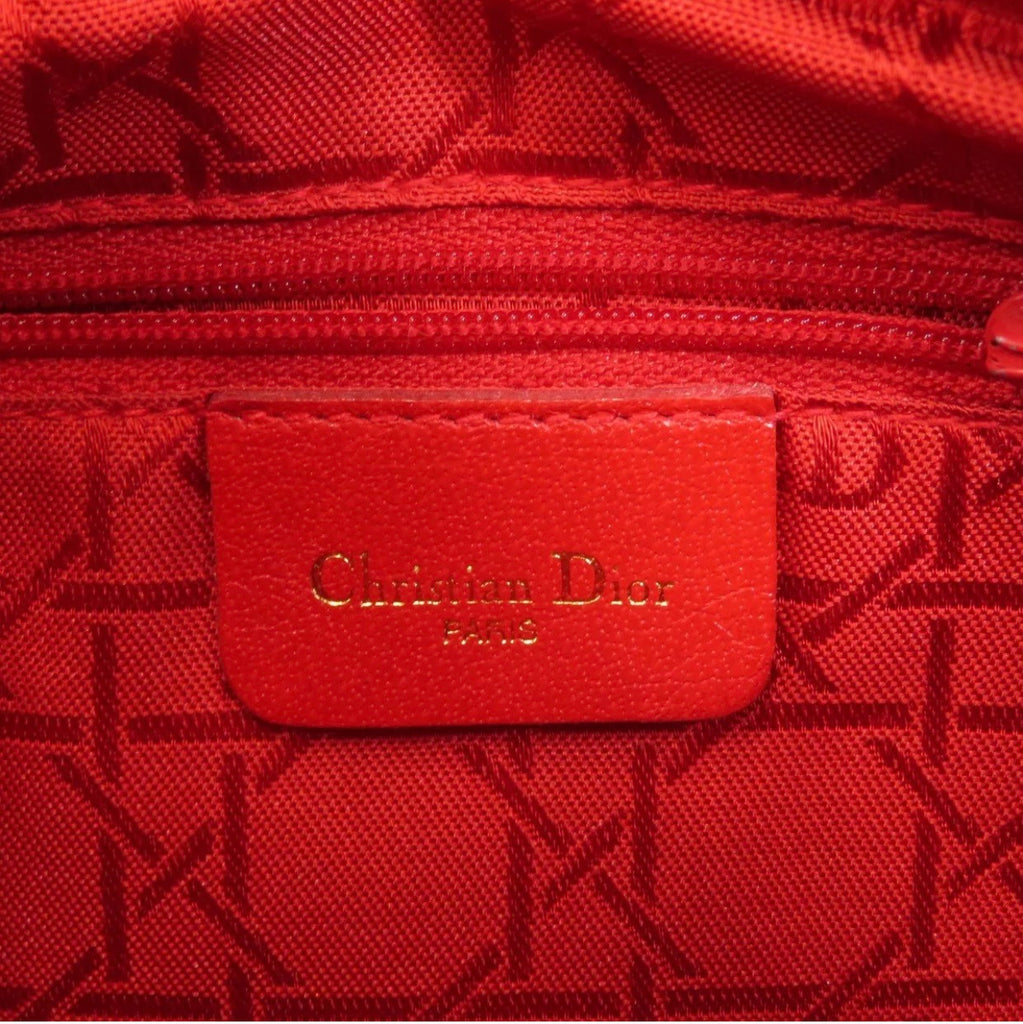 "Vtg Christian Dior ""LADY DIOR"" Handbag, Small"
