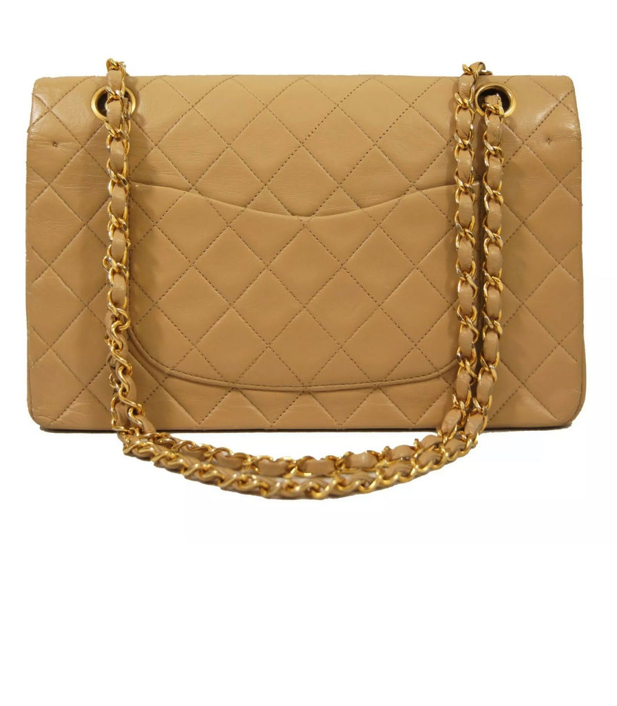 Vintage CHANEL 2.55 Classic Flap Medium 10""