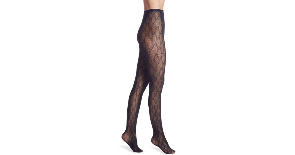GUCCI GG PANTYHOSE STOCKINGS TIGHTS, S M L