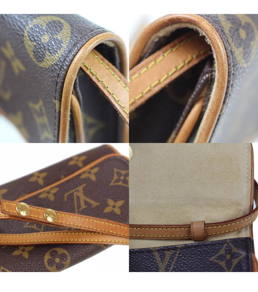 LOUIS VUITTON Pouchette Twin PM Crossbody