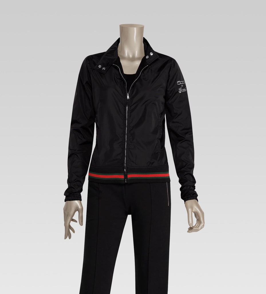 "GUCCI ""500"" Bomber Jacket with Web detail, L"