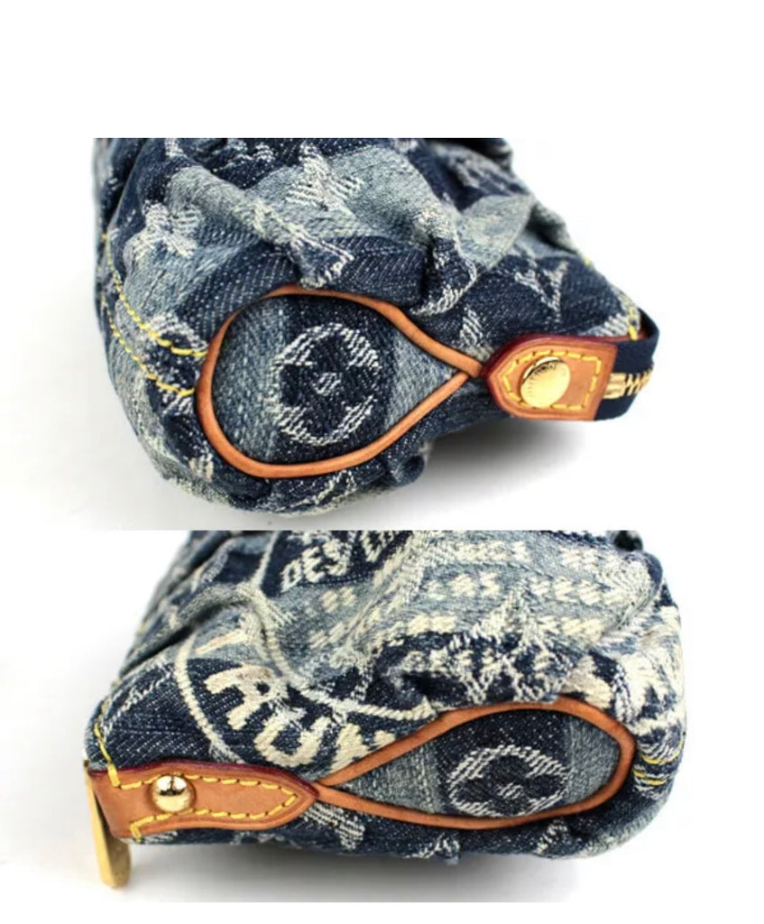 Louis Vuitton Denim Change Purse