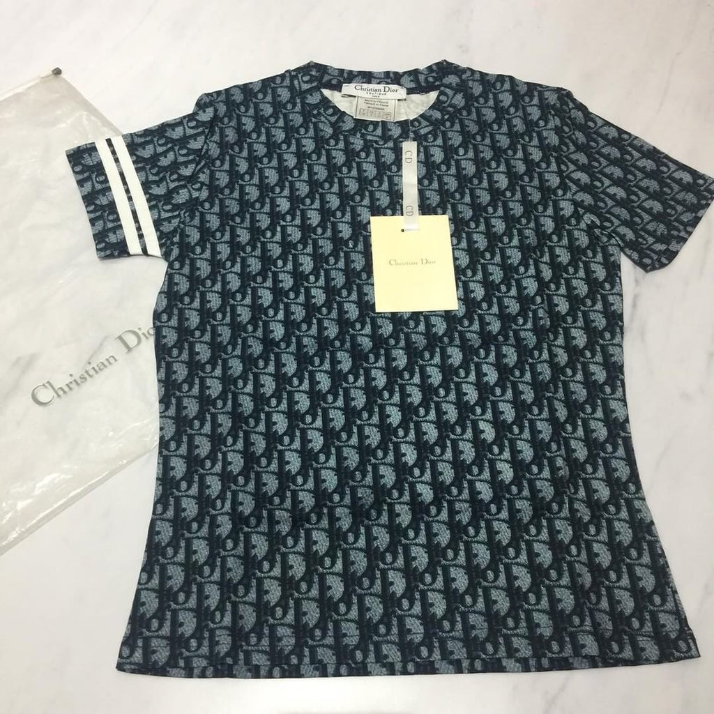NWT DIOR MONOGRAM TEE SHIRT, SMALL 4