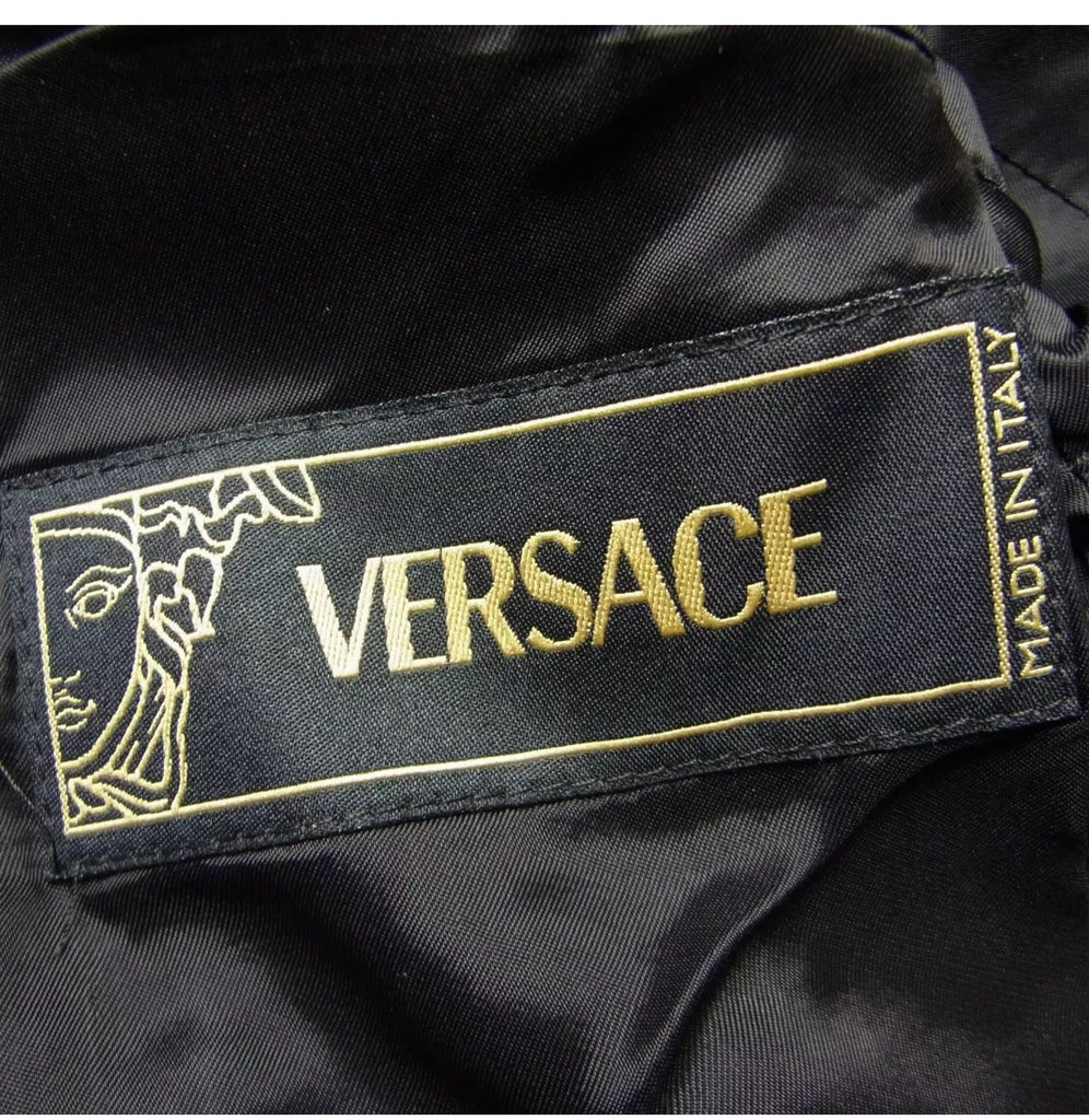 Vintage Gianni Versace cotton blazer, IT38