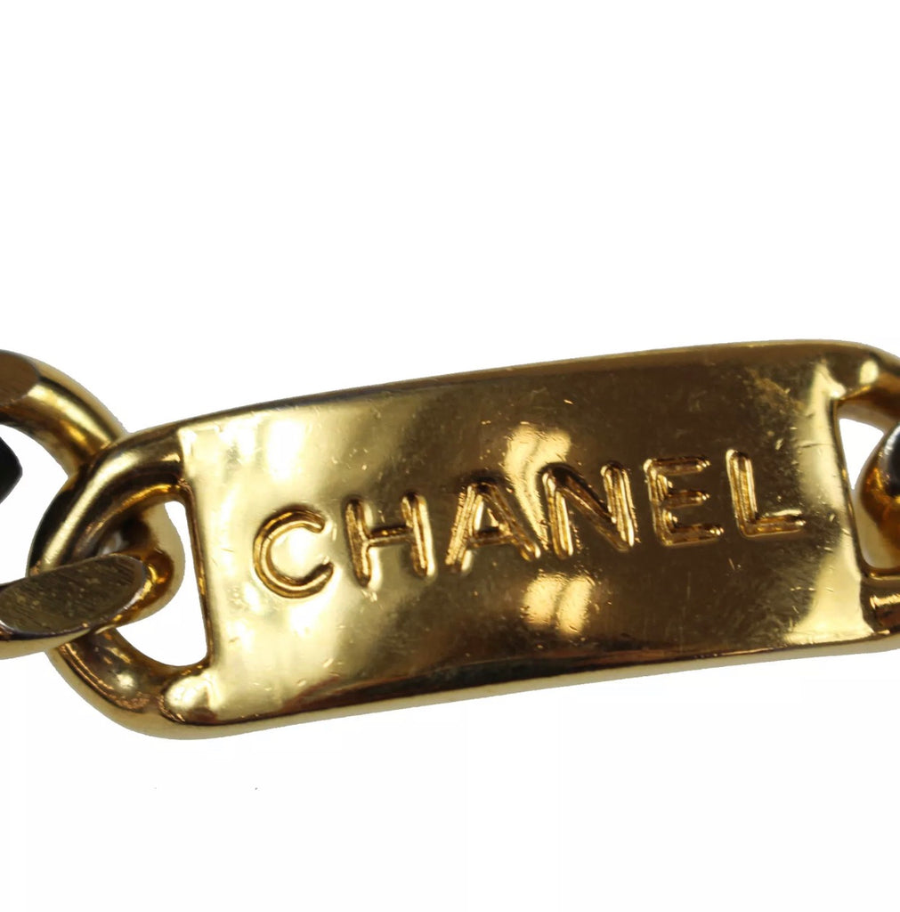Vintage CHANEL CC Single Strand Chain Belt