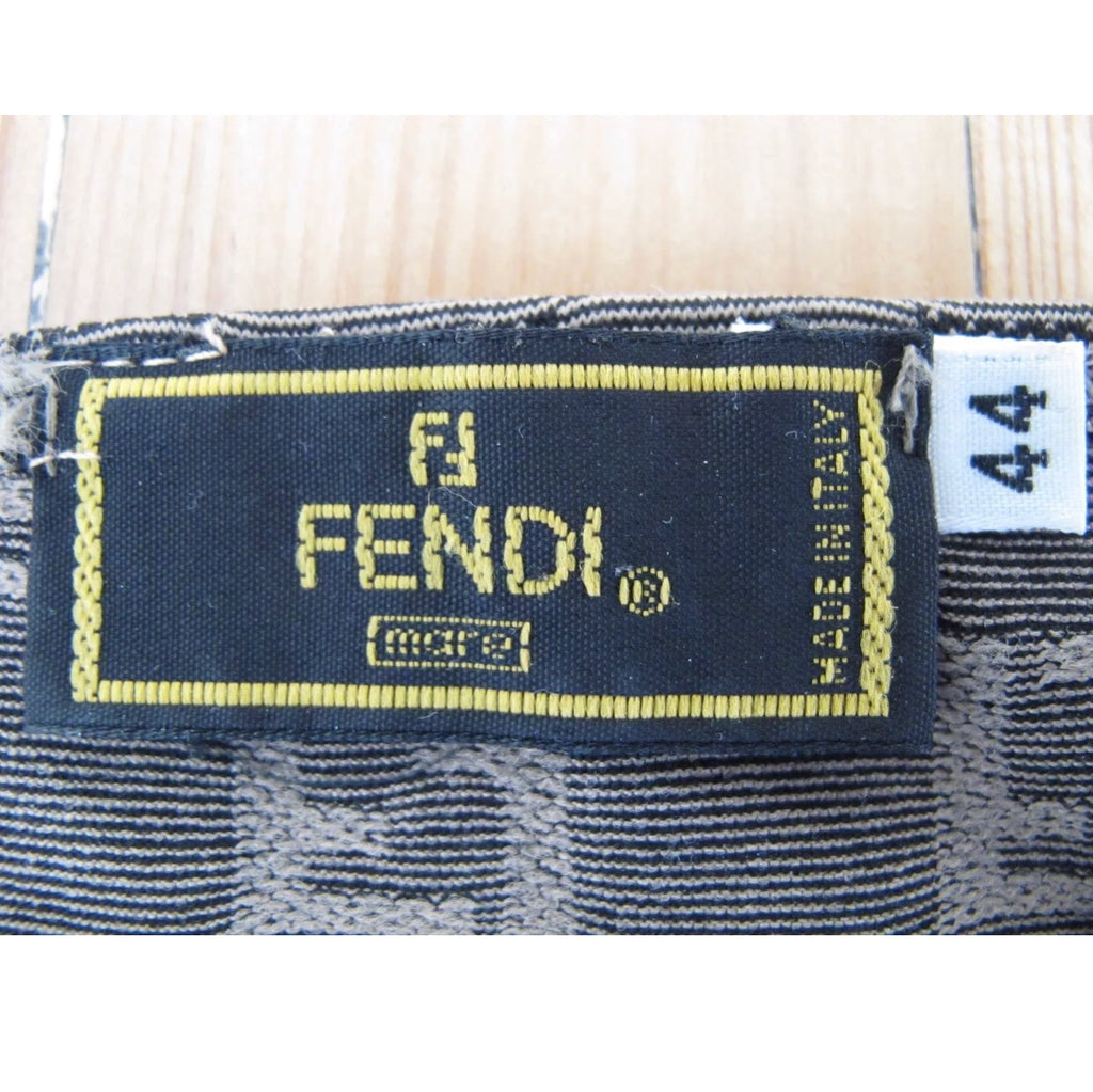 FENDI FF Monogram Logo Tank Top, IT44 S/M