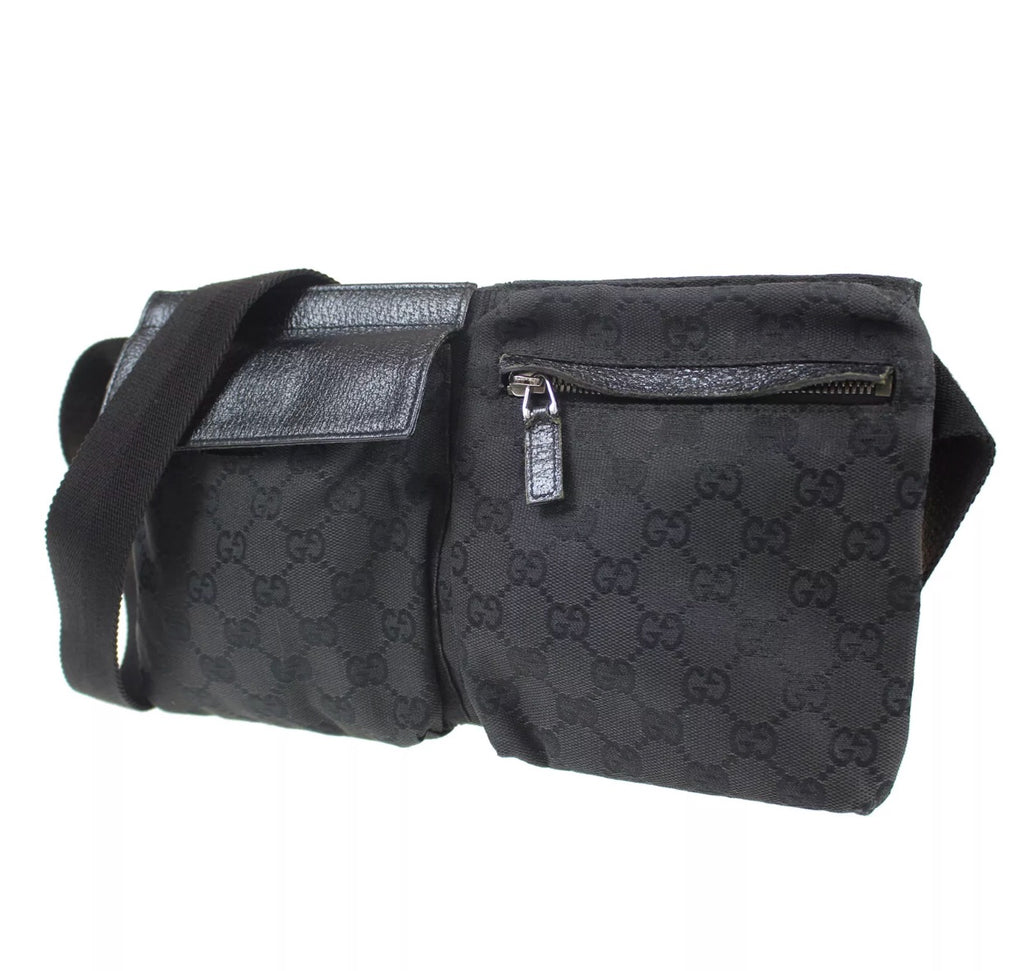 d60a8f98a308 Vintage GUCCI GG Supreme Fanny Pack, one size - Luxury Locker