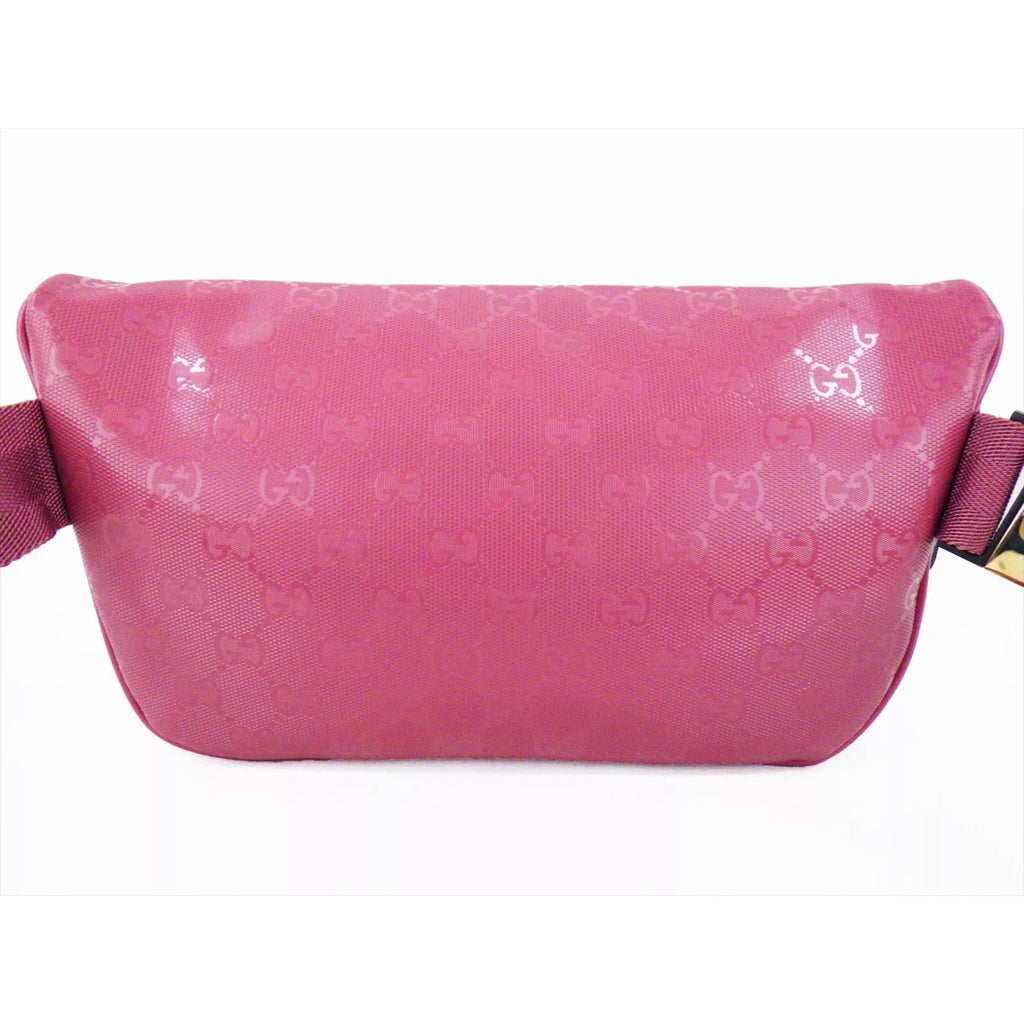 Pink Gucci Supreme Monogram Fanny pack, one size