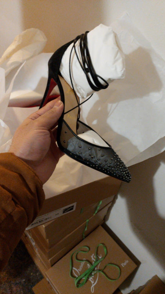 "New in Box Christian Louboutin ""Maia Labella"" Pumps, black"