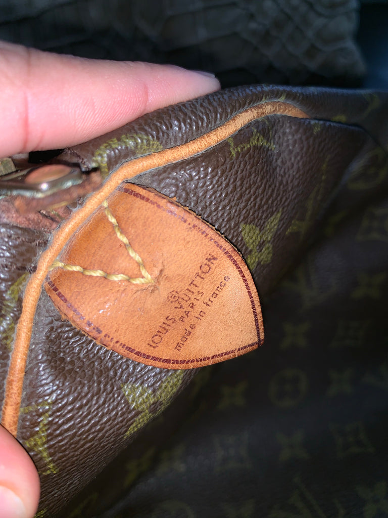 Vtg Louis Vuitton Keepall 45 Carryon Duffel Bag
