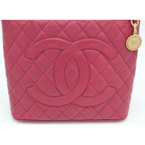 Chanel Red Caviar Tote GHW