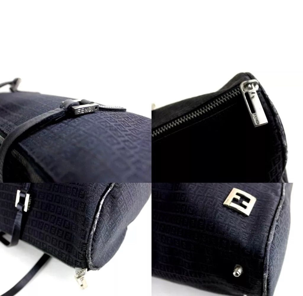 Vintage Fendi FF Monogram Boston bag