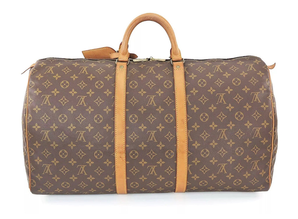 LOUIS VUITTON KEEPALL 55 LUGGAGE CARRYON