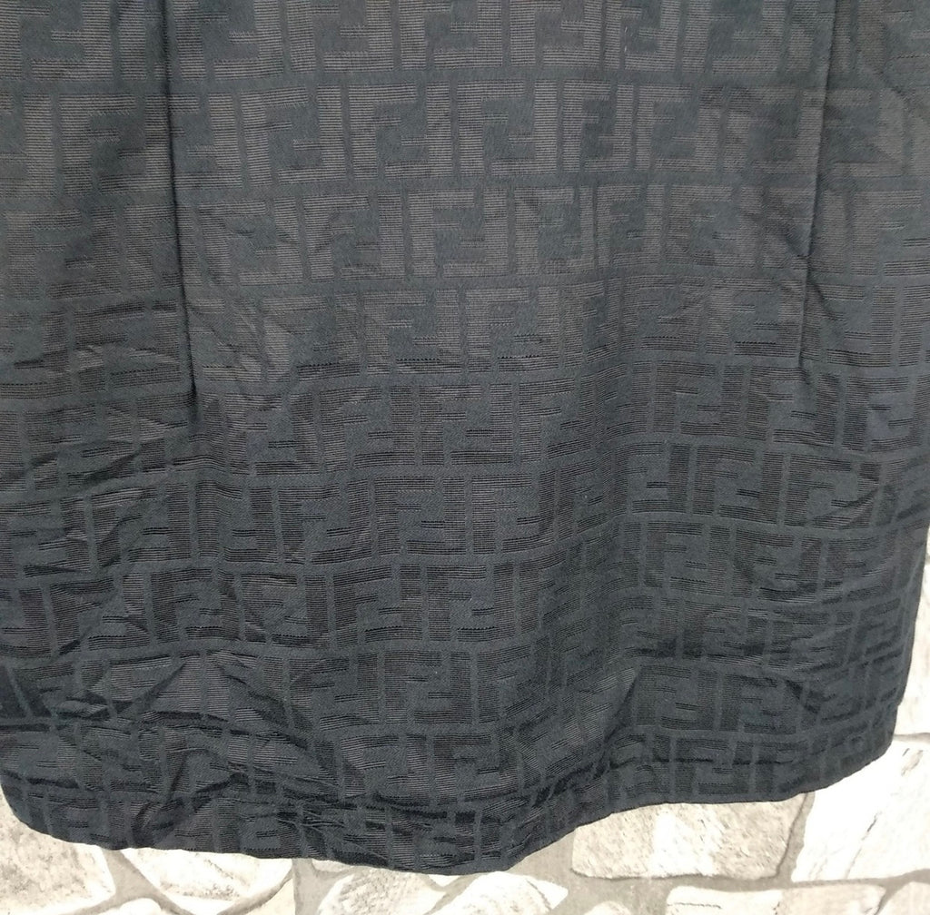 Vtg FENDI FF Monogram Jacket, Small/M