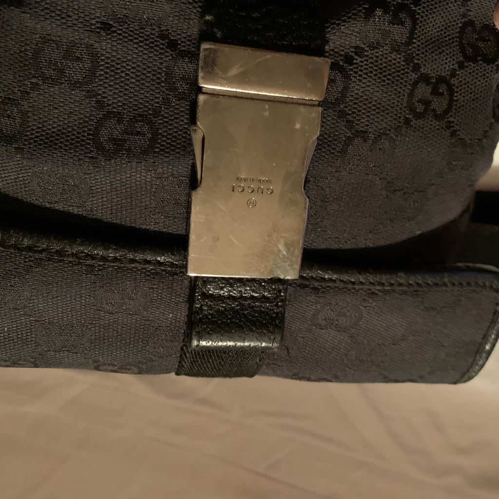 Gucci GG supreme monogram fanny pack, one size