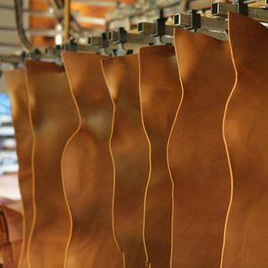 Vegetable (Organically) tanned leather