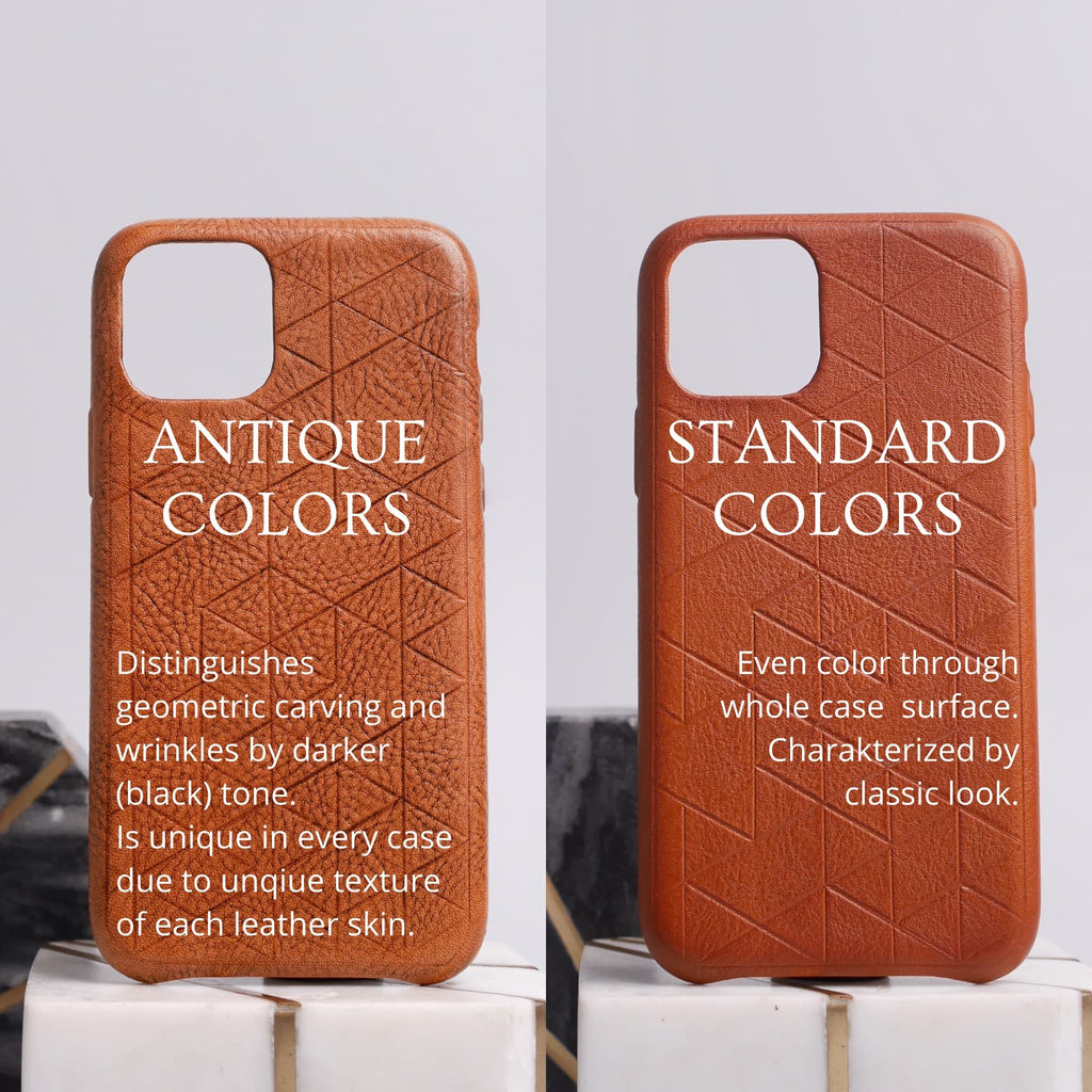 brown leather iphone cases