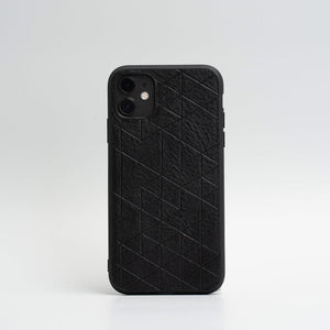 black iPhone 11 case