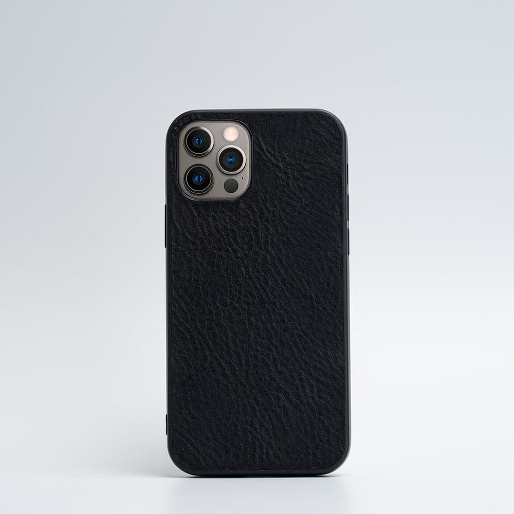black iPhone 12 pro case