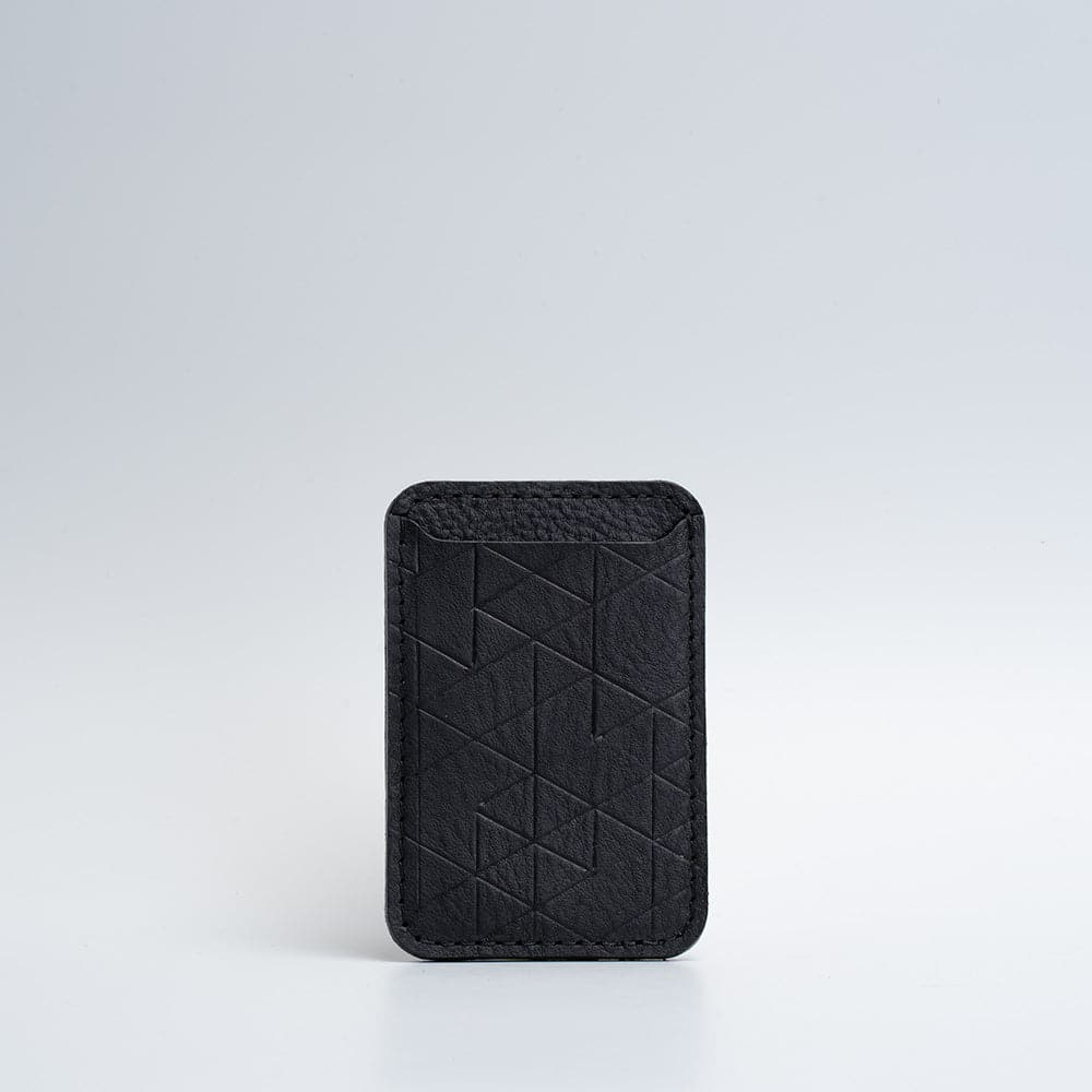 black magsafe wallet