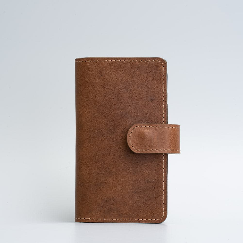 brown iphone 12 pro leather wallet