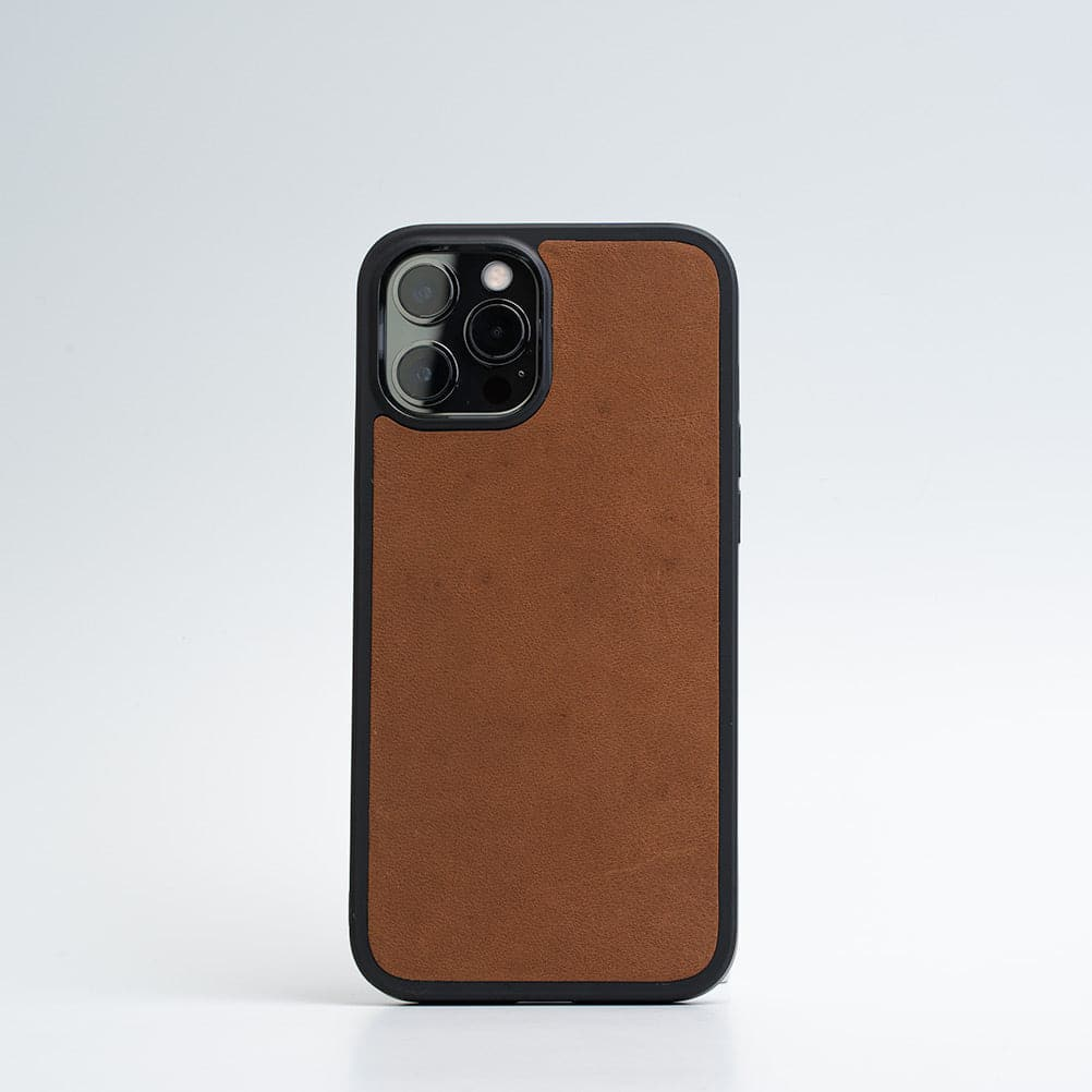Leather iPhone case with Magsafe