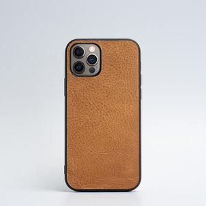 brown iPhone 12 pro case