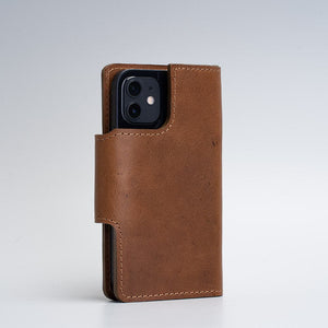 brown magsafe folio wallet