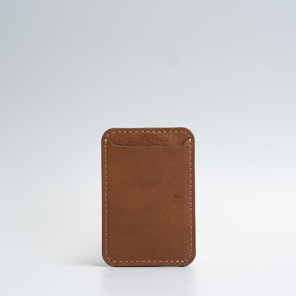 brown magsafe wallet