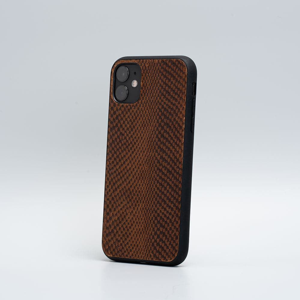 brown snake print iphone cases