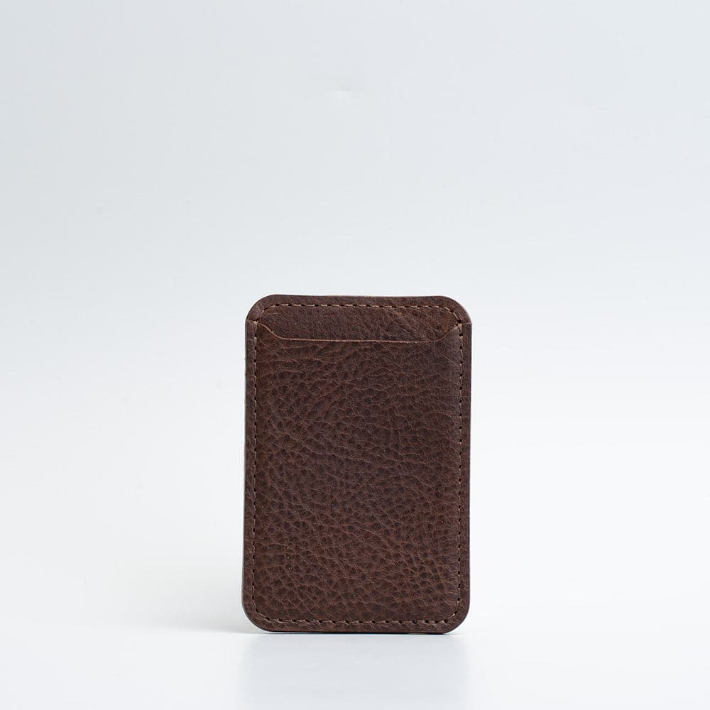 Leather MagSafe wallet - Classic
