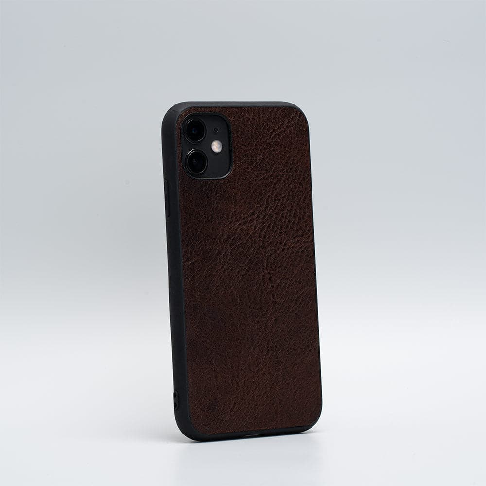 dark brown iPhone case