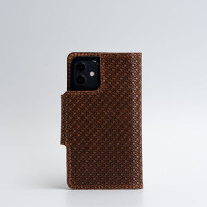 designer iPhone 12 folio wallet