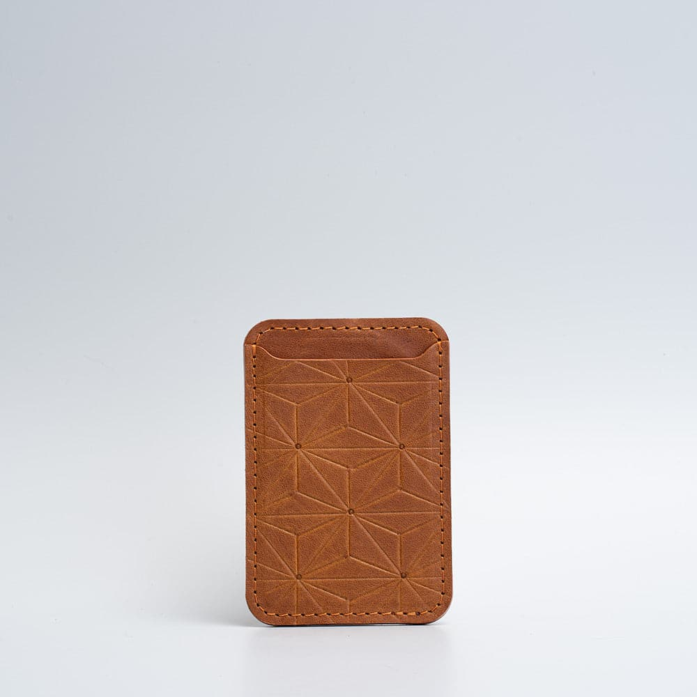 designer leather magsafe wallet