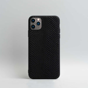embossed snake iphone case
