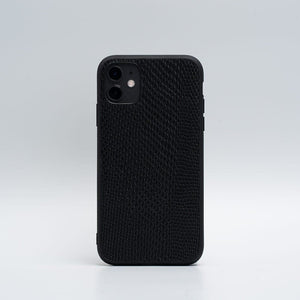 embossed snake leather iPhone 11 case